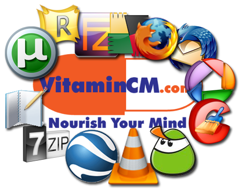 VitaminCM.com Favorite Free software
